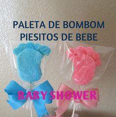 Paleta De Bombon Piesitos De Bebe/Baby Shower/Tutorial