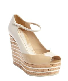 05c7d48a7901 Gucci khaki leather  Eilin  open toe mary jane wedges Mary Jane Wedges