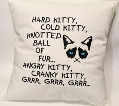 6 hilarious Grumpy Cat items from Etsy!