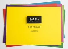 PDF Portfolio : Isabell Grothe. A very nice PDF portfolio, I thought.