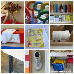 Wacky Wednesday by Teach Preschool- love the way kids get to find things in the room that are wacky!