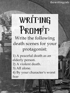 Writing promt