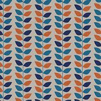 Retro leaves merging chic with structured contemporary lines, in bold colour palettes. Spring Design, Curtains, Contemporary, Interiors, Home Decor, Image, Homemade Home Decor, Decoration Home, Interior