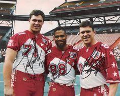 Pro Bowl  Tony Bosselli, Keenan McCardell, and Mark Brunell