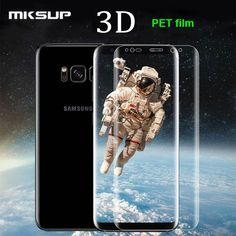 MKSUP Ultra Thin Clear Full Cover Screen Guard Film Soft PET Protector For Samsung Galaxy S7Edge S8 S8 plus (Not Tempered Glass) //Price: $2.21//     #storecharger