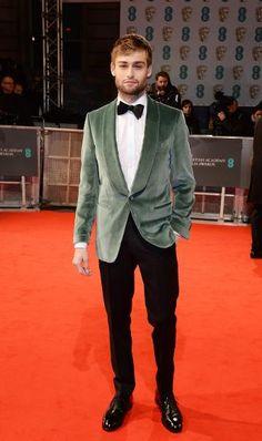 Baftas Red Carpet Best & Worst Dressed | Douglas Booth in a Velvet Tuxedo