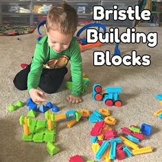 Bristle Building Blocks for Preschoolers and Toddlers