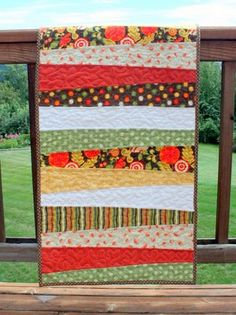 Cluck Cluck Sew: Fall Table Runner