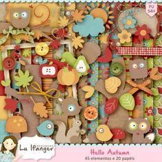 Kit Digital Hello Autumn by Lu Ifanger