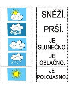 klikni pro další 347/384, PRVOUKA Sistema Solar, Weather For Kids, First Day Of School, Kids And Parenting, Geography, Montessori, Crafts For Kids, Preschool, Language