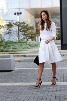 Bijela boja: 30 elegantnih kombinacija za ovo proljeće