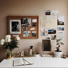 The essentials for a Zen room - Home Fashion Trend Zen Room, Desk Inspiration, Cute Room Decor, Desk Space, Aesthetic Room Decor, My New Room, House Rooms, Bedroom Decor, Dorm Desk Decor