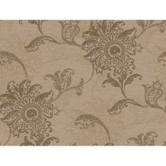 York Wallcoverings 60.75 sq. ft. Layered Jacobean Floral Wallpaper-DC1407 at The Home Depot