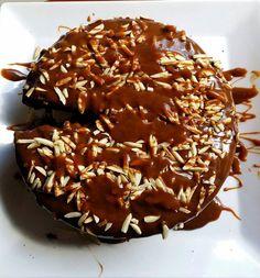 Wholefood Indulgence Choc/Caramel Cake Clean eating chocolate cake made with coconut flour and almond Meal. Coconut Sugar, Coconut Flour, Clean Eating Chocolate, Whole Food Recipes, Healthy Recipes, Almond Meal, Belgian Chocolate, Cake Servings, Almond Recipes