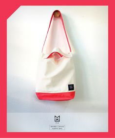White-Red always tote bag by MUK design