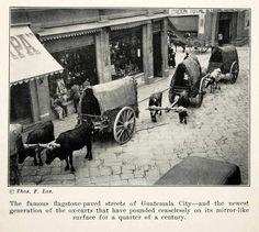 Sexta avenida, en los inicios de los años 20.