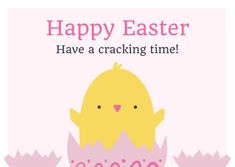 Customize the Have a Cracking Easter Time Card template and make it match your brand!