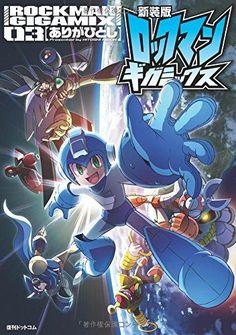 Rockman Mega Man Gigamix Vol. 3 Game Manga Comic Book NEW