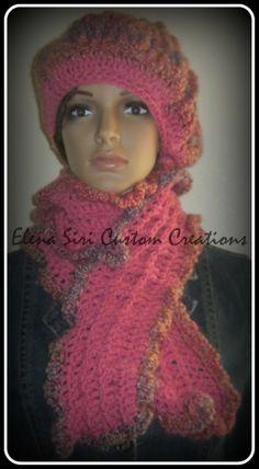 ELENA SIRI CUSTOM CREATIONS  www.elenasiri.com  crochet fashions