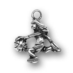 Picture of Female Basketball Player Charm