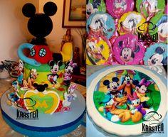 Torta, Gelatina y Galletas de #LaCasaDeMickeyMouse