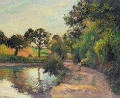 Camille Pissarro - Camille Pissarro Pissarro Hyde Park Painting