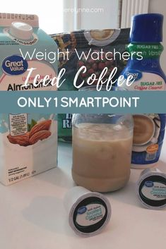 Weight Watchers Iced Coffee [Only 1 SmartPoint] – Meredith Rines Here's a Weight Watchers iced coffee recipe that's only 1 SmartPoint. This simple iced coffee recipe takes just a few minutes to make and tastes great! Healthy Iced Coffee, Iced Coffee At Home, Iced Coffee Drinks, Best Coffee, Healthy Starbucks, Starbucks Drinks, Starbucks Coffee, Weight Watchers Smoothies, Weight Watchers Meals