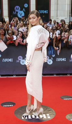 Gigi Hadid (Photo: MUCH) // See the Pics From the 2015 MMVAs Red Carpet - Flare