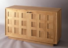 Arts and Crafts inspired cabinet.