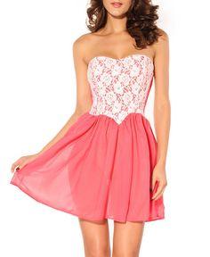Lace Bra Dress