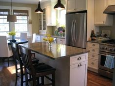 8 Best Adding An Island To A Small Kitchen Images