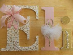 Cute letters for Mea's room