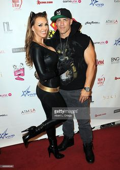 Adult film actresses Tanya Tate as Catwoman and Derek Pearce at FSC After Dark 'Capes & Panties' A Superhero Costume & Lingerie Auction and Silent Auction to Benefit the Free Speech Coalition held at Supperclub on September 24, 2015 in Hollywood, California.