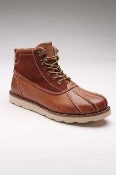 Rockwell Leather Boot.