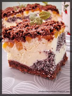 Polish Desserts, Polish Recipes, Baking Recipes, Cake Recipes, Dessert Recipes, Holiday Baking, Christmas Baking, Potica Bread Recipe, Baklava Cheesecake