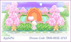 Campsite Animal Crossing New Leaf Nice Path Dress Town Inspiration Idea ACNL ♡ ApplePie ♡ Dream Code 7B00-003E-1F15 ♡