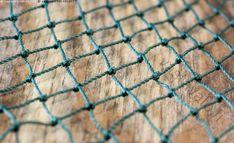 Paksu nylonverkko - verkko kalaverkko nylonverkko nylon kalastus väline kalastusväline solmut solmittu