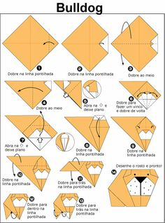 56 best images on pinterest in 2018 origami easy diagrama de origami de bulldog thecheapjerseys Image collections