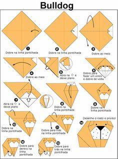 Aprenda a fazer origami de cachorro | Cachorro Blog