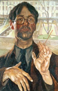 Self portrait (Adelaide Road), 1939, Spencer, Stanley (1891-1959) / Ex-Edward James Foundation, Sussex, UK / Bridgeman Images