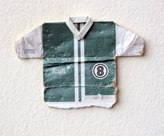 Leo Fitzmaurice, 'Post Match, Number Eight' 2013, Folded cigarette-packet top.