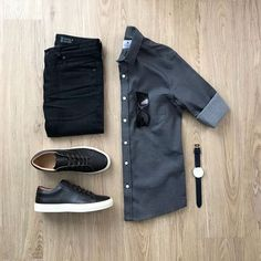 Ideas clothes casual jeans shirts for 2019 Stylish Mens Outfits, Casual Outfits, Men Casual, Fashion Outfits, Casual Jeans, Trendy Fashion, Mens Fashion, Fashion Guide, Herren Style