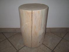 Nr.121,+Fichte,+31+x+30cm+x+48cm,+Baumstamm+Hocker+von+Altmühltaler-Wood-Style+auf+DaWanda.com