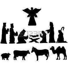 Vector illustratie. De ster van Bethlehem. Geboorte Stockfoto