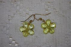 crystal look flower pierced earrings various by hudathotjewelry, $8.00