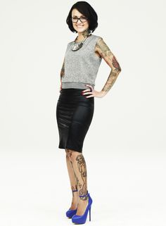'Best Ink 3': Alayna Magnan  She is my favorite