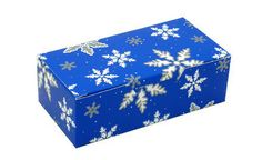 snowflakes candy box 1/2 pound 1 piece
