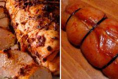Nu mai cumpăr crenvurști din magazine. Crenvurștii de pui preparați acasă sunt mult mai gustoși! - Bucatarul Bacon, Pork, Food And Drink, Mai, Chicken, Food, Kale Stir Fry, Pork Chops, Pork Belly