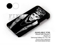 Justin Bieber with Black Hat case for iPhone 4/4S/5 iPod 4/5 Galaxy S2/S3/S4
