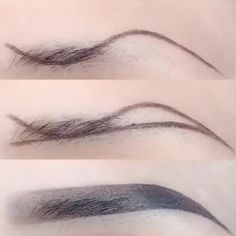 Eyebrow Makeup Tips, Makeup Eye Looks, Skin Makeup, Eyeshadow Makeup, Makeup Eyebrows, Easy Eye Makeup, How To Make Eyebrows, Henna Eyebrows, Eye Brows